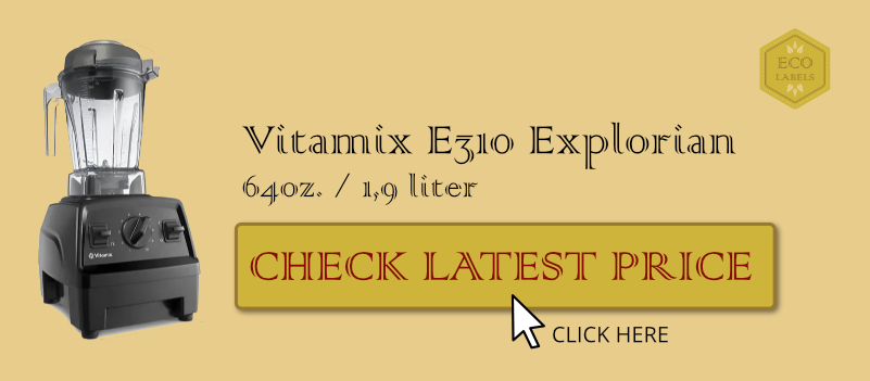 The best blender for everything: View the latest price for Vitamix E320 Explorian 64oz blender on Amazon